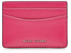 Marc Jacobs Leather Card Holder - MULTICOLORED - STYLE