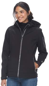 Free Country Women's Hooded Soft Shell Jacket