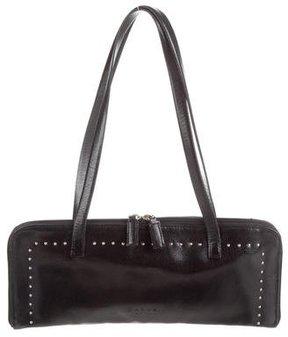 Carven Leather Studded Bag