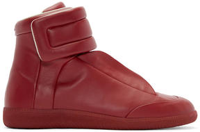 Maison Margiela Red Future High-Top Sneakers