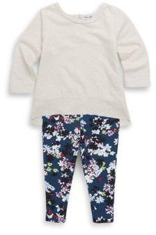 Splendid Baby's Hi-Lo Top and Floral Leggings Set
