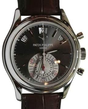 Patek Philippe 5960P Chronograph Annual Calendar Platinum Mens Watch