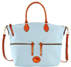 Dooney & Bourke Nylon Large Pocket Satchel - LIGHT BLUE - STYLE