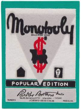 Olympia Le-Tan Monopoly Popular Edition embroidered clutch
