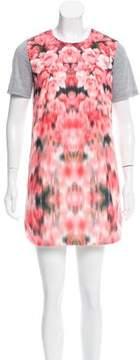 Finders Keepers Floral Print Mini Dress