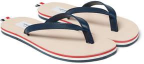 Thom Browne Leather Flip Flops
