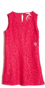 GUESS Sleeveless Lace Dress (2-7)