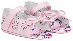 Fendi cutout floral sandals