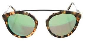 Westward Leaning Westward\\Leaning Tortoiseshell Aviator Sunglasses