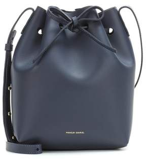 Mansur Gavriel Small leather bucket bag