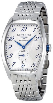 Longines Evidenza Automatic Silver Dial Men's Watch