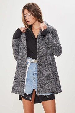 Forever 21 Double-Breasted Peacoat
