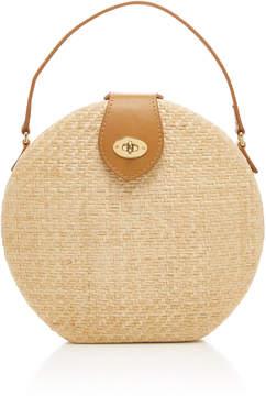 Kayu Peyton Straw Round Bag