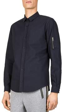 The Kooples New Varsity Slim Fit Button-Down Shirt