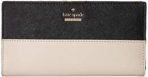 Kate Spade Cameron Street Stacy Wallet - ATOLL BLUE - STYLE