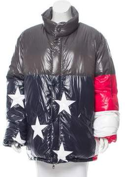 Moncler 2016 USA Flag 10 Reversible Jacket w/ Tags