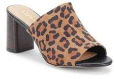 BCBGeneration Beverly Leopard Print Mules