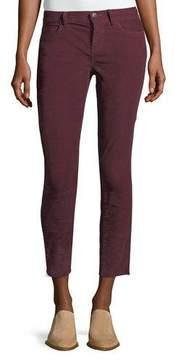 Current/Elliott The Stiletto Corduroy Skinny-Leg Ankle Jeans