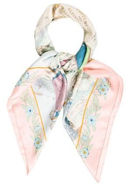 Hermes Costumes Des Departments Silk Scarf