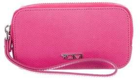 Tumi Leather Zip-Around Wallet