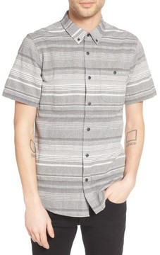 Ezekiel Men's Striped Woven Shirt