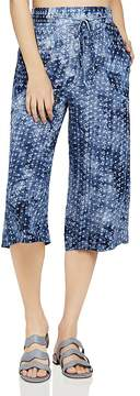 BCBGeneration Printed Tie-Dye Culottes