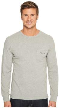 VISSLA Loudoun Crew Pullover Pocket Fleece Men's Clothing