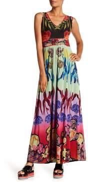 Desigual Maxi Printed Sleeveless Dress