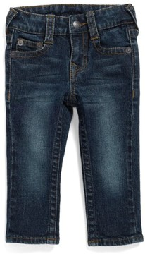 True Religion Infant Boy's Brand Jeans 'Geno' Relaxed Slim Fit Classic Jeans