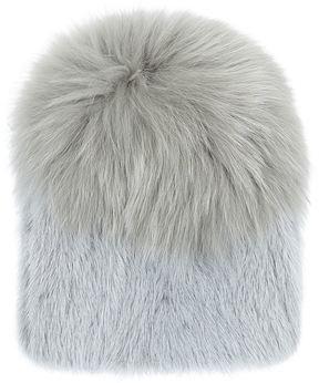 Yves Salomon Large Mink Bobble Hat