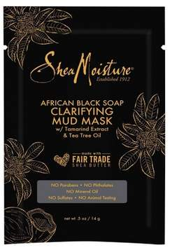 SheaMoisture® African Black Soap Clarifying Mud Mask - Tamarind Extract & Tea Tree Oil - .5oz