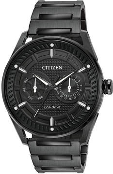 Citizen Drive from Eco-Drive Men's Black Stainless Steel Bracelet Watch 42mm