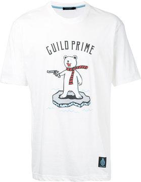 GUILD PRIME polar bear print T-shirt