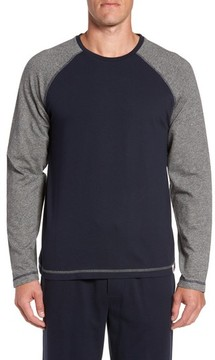 Majestic International Men's Trey Long Sleeve Raglan T-Shirt