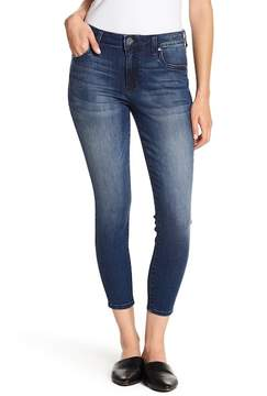 KUT from the Kloth Donna Cropped Ankle Skinny Jeans (Petite)