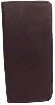 Piel Leather Passport/Ticket Holder 8996