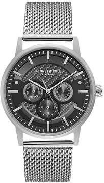 Kenneth Cole New York Men's Stainless Steel Mesh Bracelet Watch 42mm