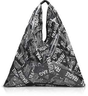Maison Margiela Fragile Printed Japanese Tote Bag