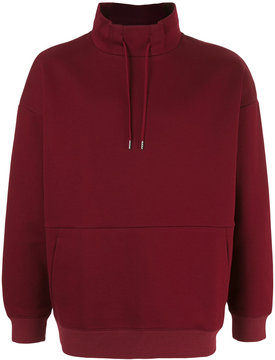 EN ROUTE stand up collar sweatshirt