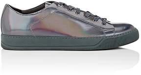 Lanvin Men's Cap-Toe Spazzolato Leather Sneakers