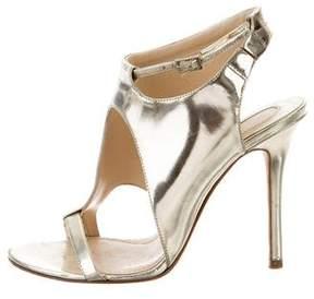 Camilla Skovgaard Metallic Patent Leather Sandals