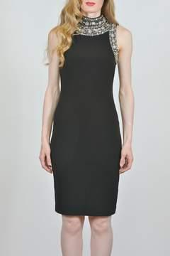 Joseph Ribkoff Crystal Accented Dress