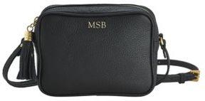 GiGi New York Personalized Madison Pebbled Leather Crossbody Bag