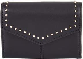 Sandro Small Leather Envelope Wallet
