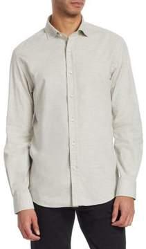 Ralph Lauren Purple Label Cotton Flannel Shirt