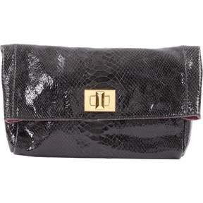 Emilio Pucci Patent leather clutch bag