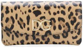 Dolce & Gabbana leopard print wallet