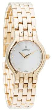 Concord Classic Watch w/ Mother of Pearl Dial