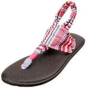 Sanuk Girl's Yoga Sling Burst Prints Sandal 8157195