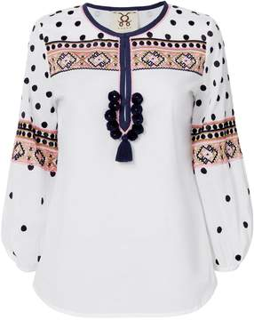 Figue Savannah Embroidery Top